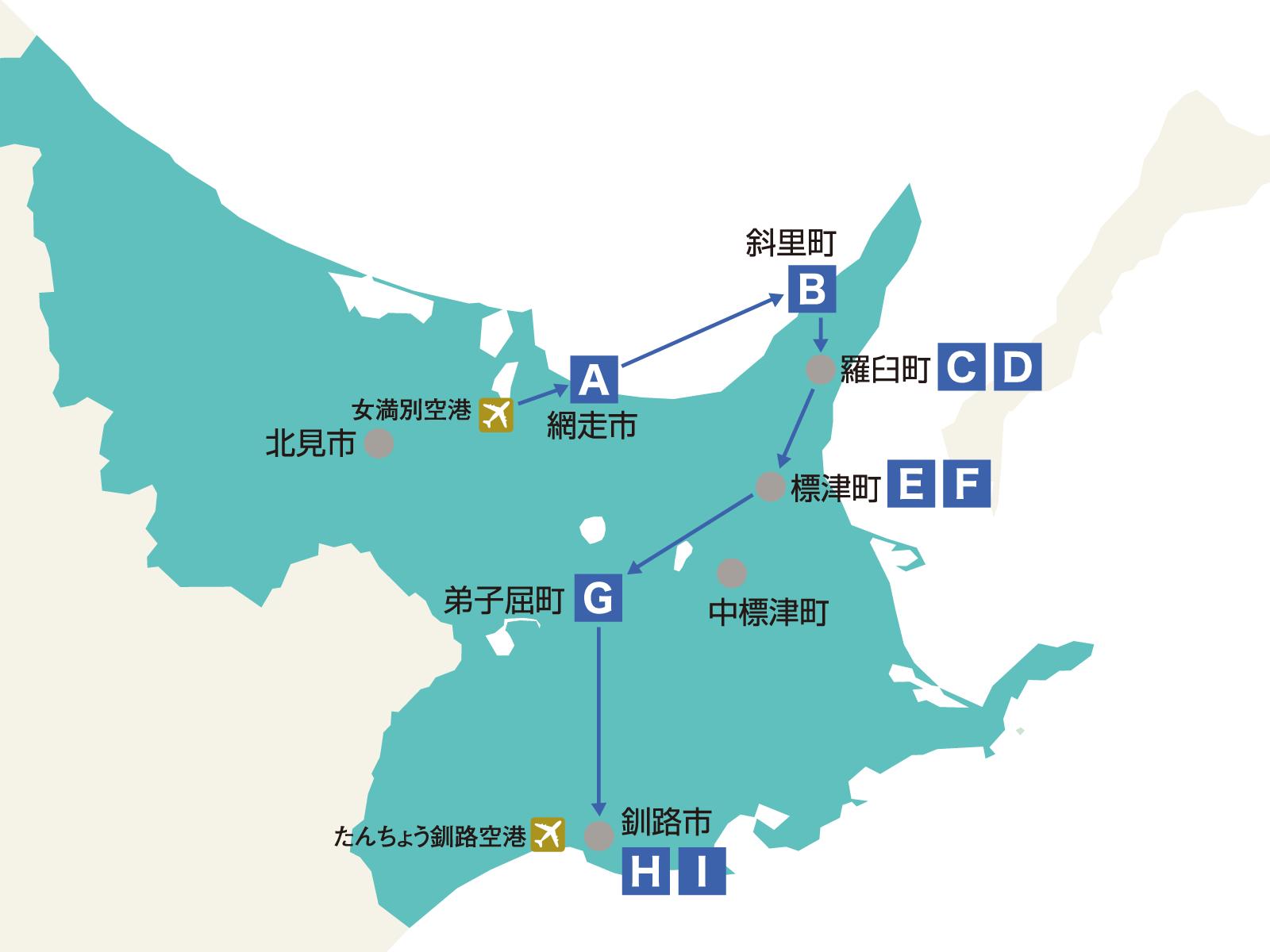モデルコース | 旅して体験!北海道